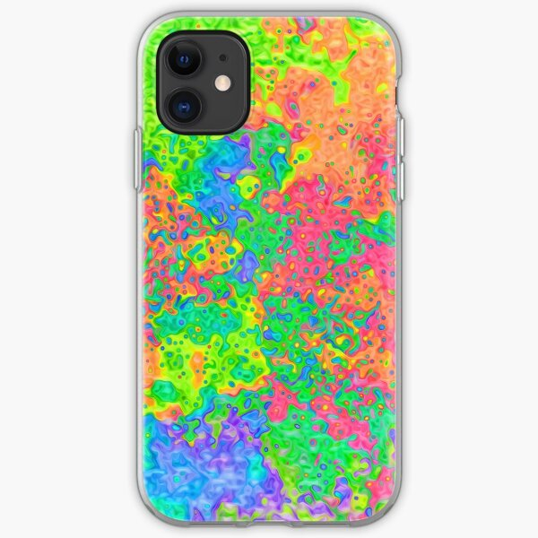 Abstract pattern iPhone Soft Case