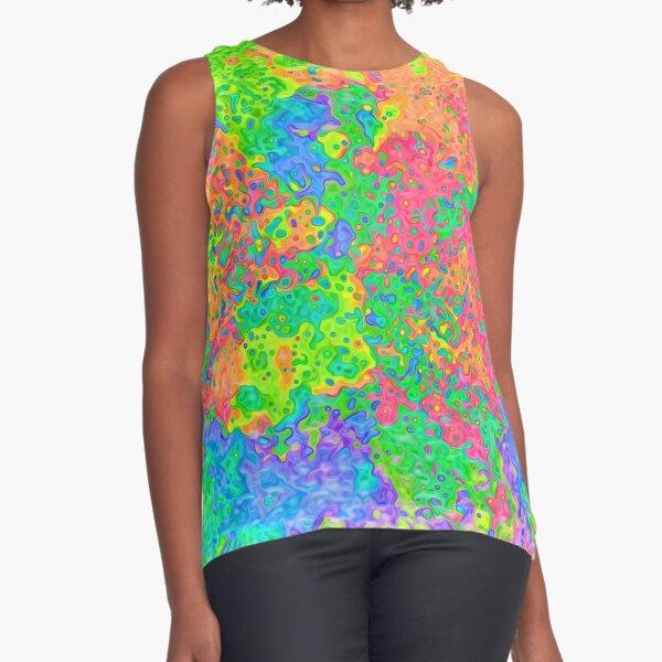 Abstract pattern Sleeveless Top