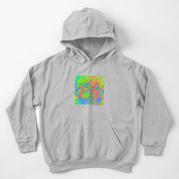 Abstract pattern Kids Pullover Hoodie