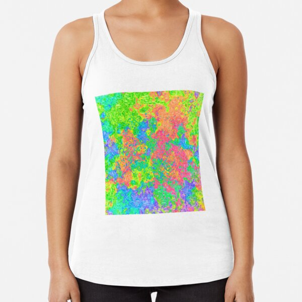 Abstract pattern Racerback Tank Top