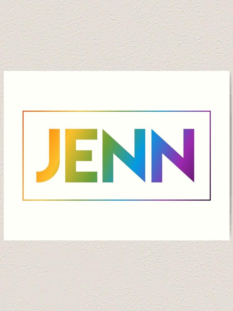 Alternate view of Jenn - Pride Edition Art Print