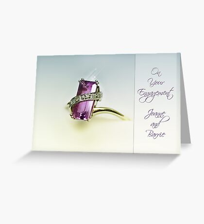 Amethyst Greeting Card