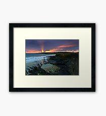 garretstown sunset Framed Print