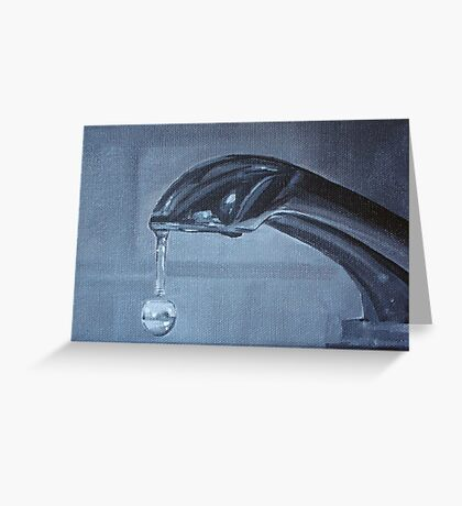 Suspended time Greeting Card