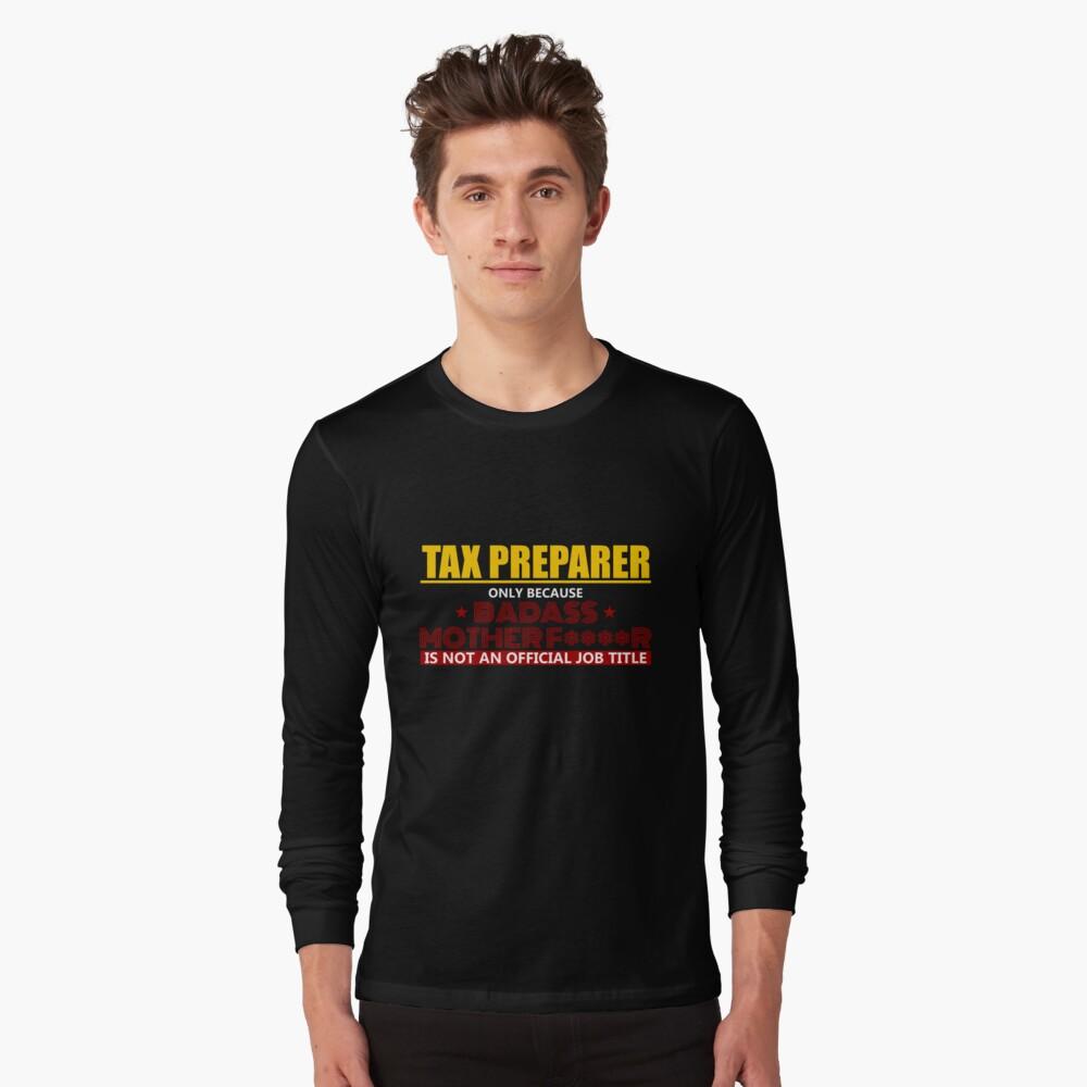 Tax Preparer Jobs Shirt Tee Shirt Clothing