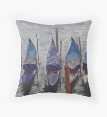 Autumn Gondolas Throw Pillow