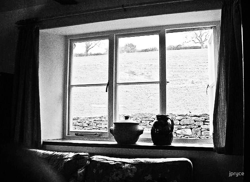 Cottage Window by jpryce