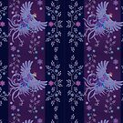 abstract textile designs by Jatmika Jati