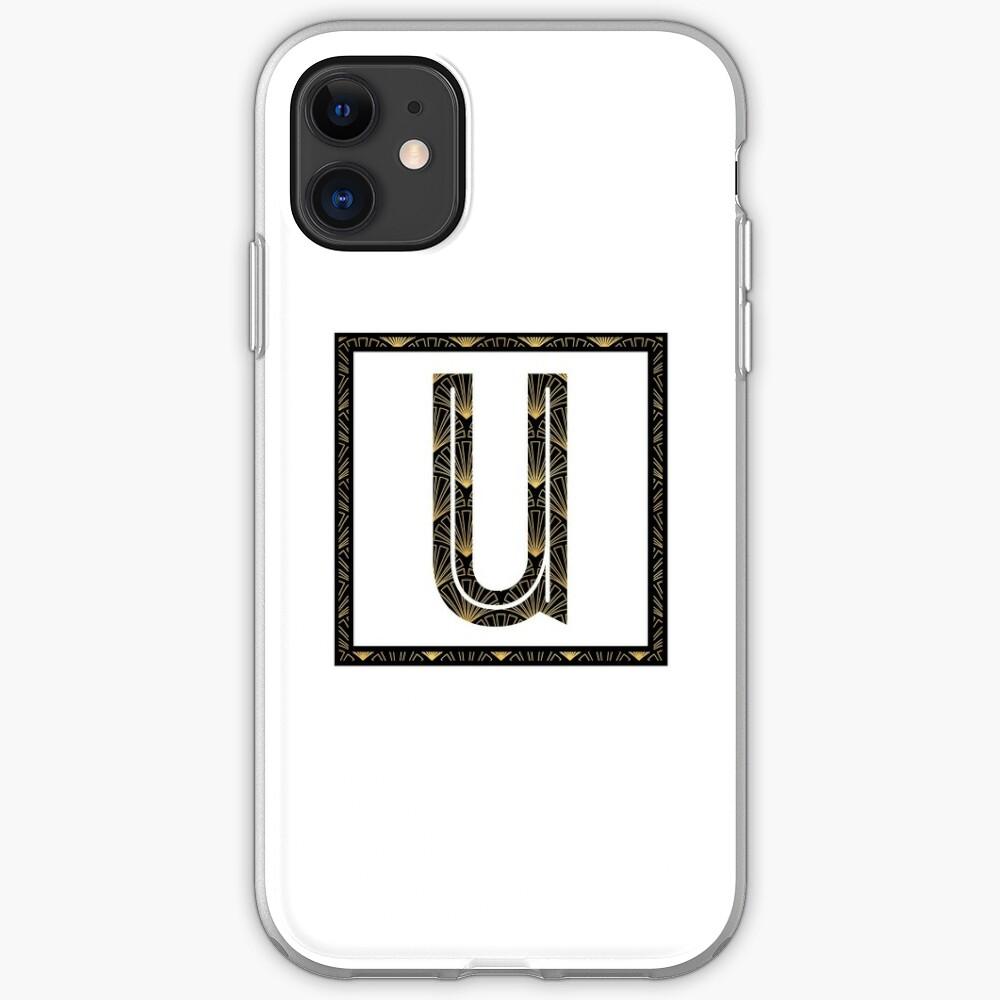 U - Art Deco Edition iPhone Case & Cover