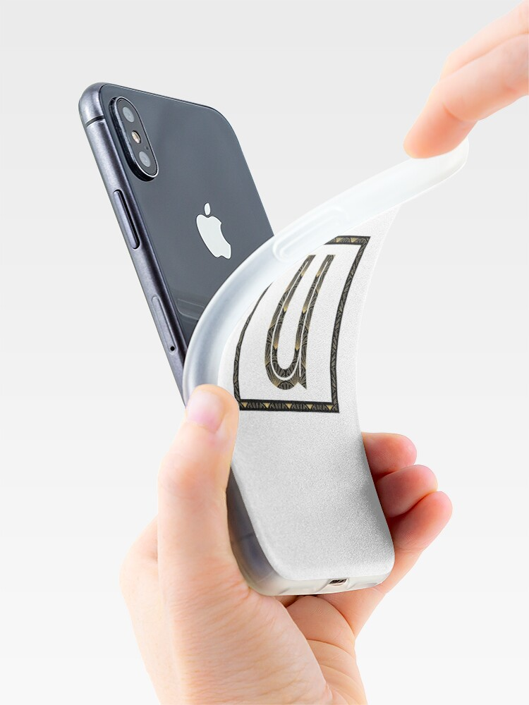 Alternate view of U - Art Deco Edition iPhone Case & Cover