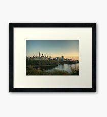 Ottawa Skyline - Ottawa, Ontario Framed Print