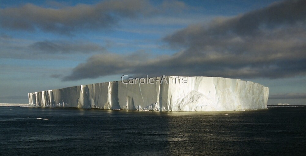 Panoramic Iceberg, Ross Sea, Antarctica by Carole-Anne