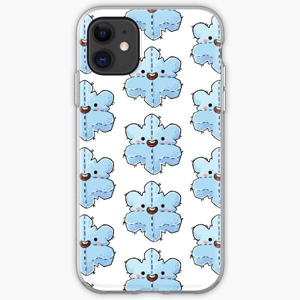 Snowflake Plushie iPhone Soft Case