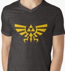 Hylian Crest Men's V-Neck T-Shirt