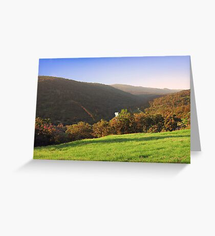 Avon Valley - Western Australia  Greeting Card