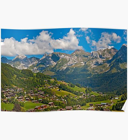 Summertime in the Alps Poster