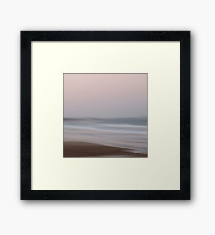 Pink at Night Framed Print