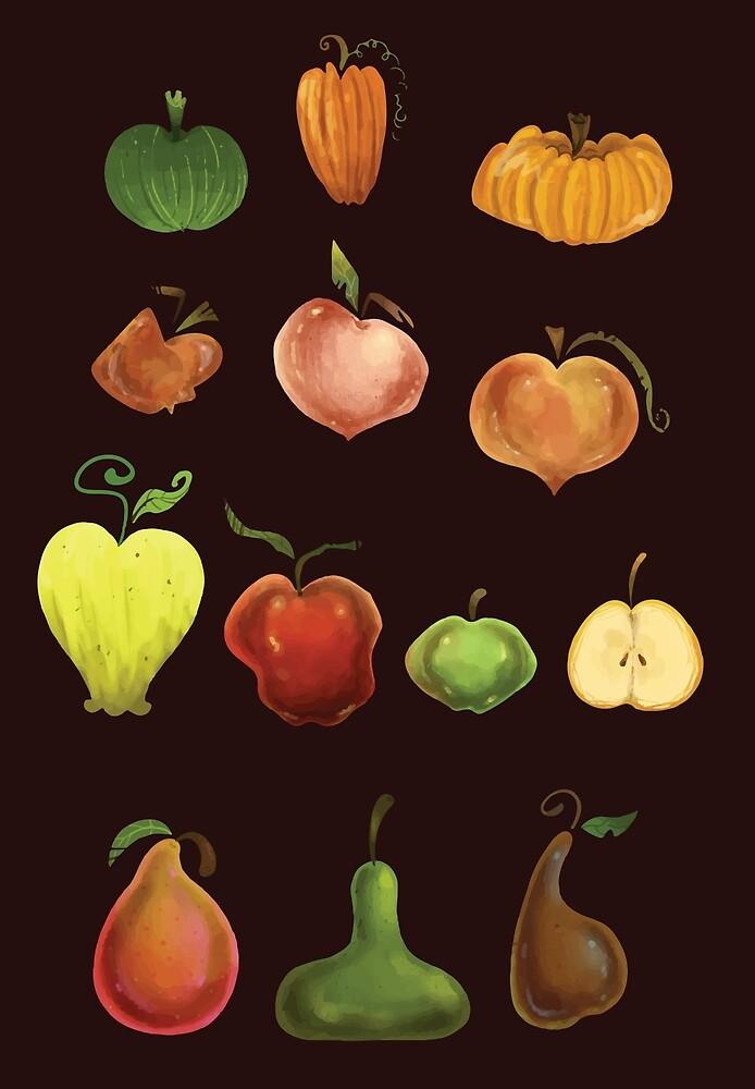 Tutti Fruitti by ninied