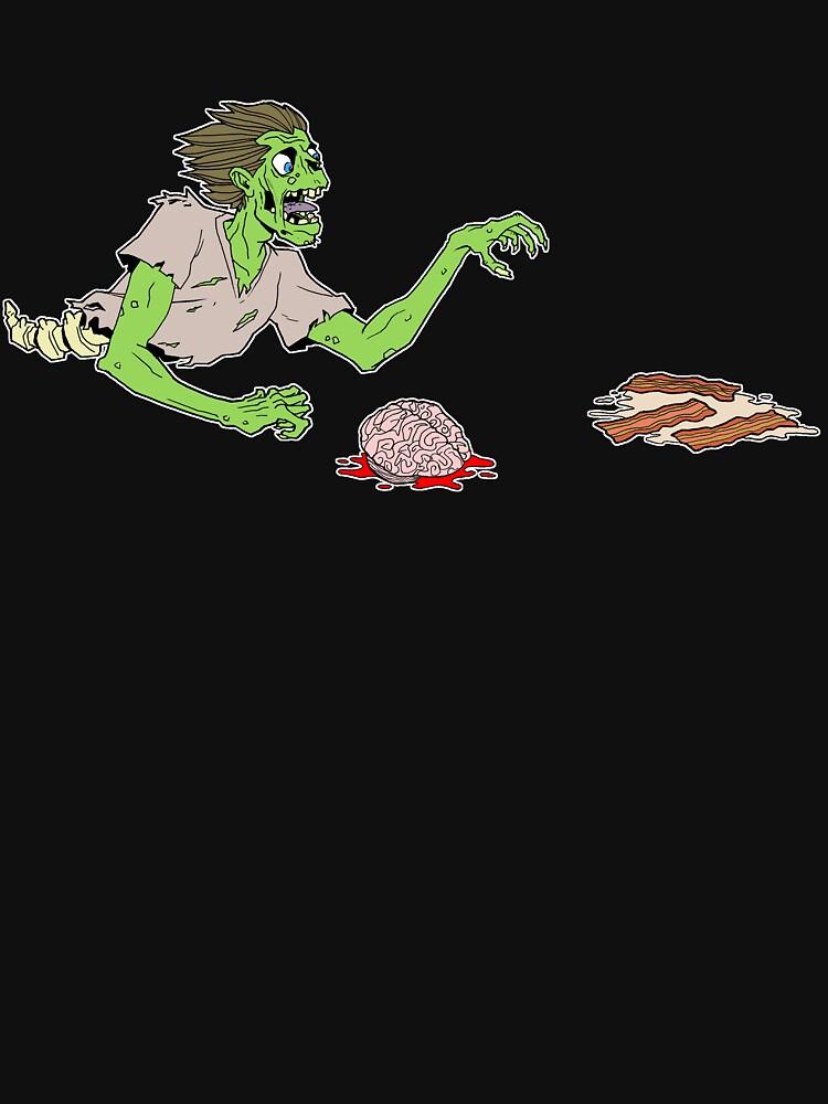 Bacon Zombie by dennisculver