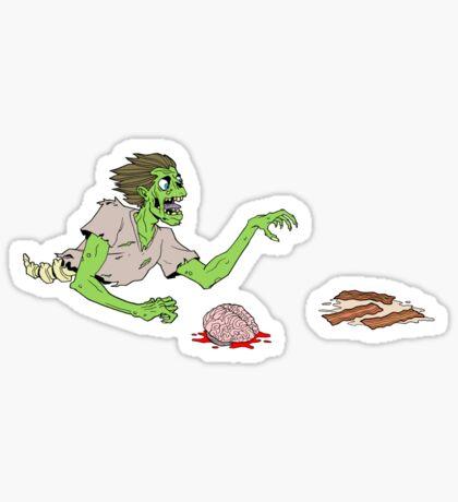Bacon Zombie Sticker
