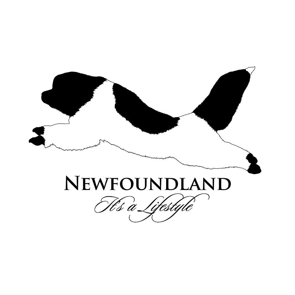 Landseer Newfoundland - It's a Lifestyle by Christine Mullis