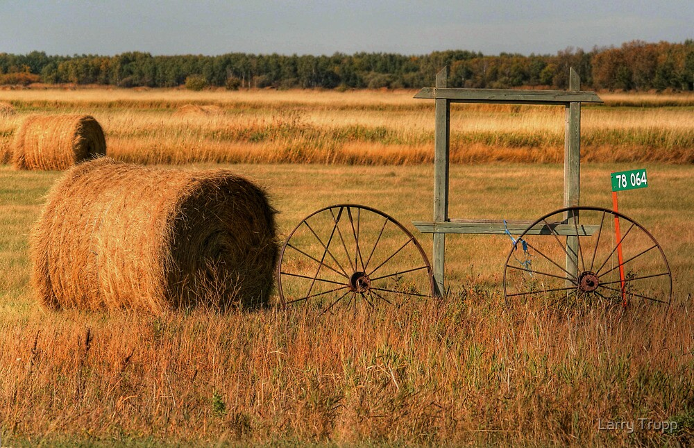 Old Wheels on the Prairie by Larry Trupp