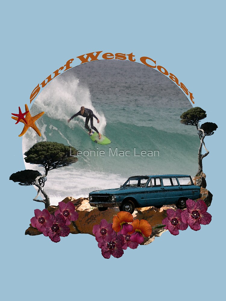 Surf West Coast Tee by yallmia