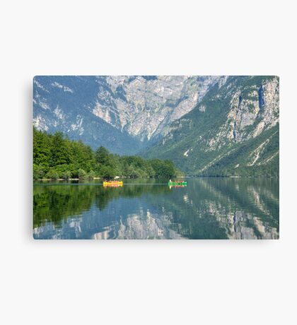 Valley reflections Canvas Print