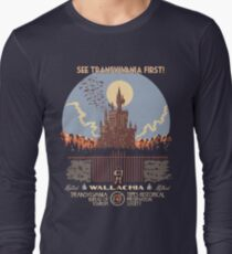 See Castlevania First! Long Sleeve T-Shirt