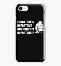 Rugby Is Importanter Mens Funny T-Shirt iPhone Case/Skin