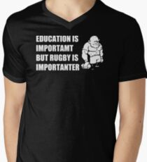 Rugby Is Importanter Mens Funny T-Shirt T-Shirt