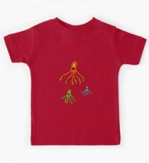 Octopus for kids tee Kids Tee
