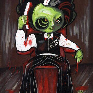 Zombie Sweeney Todd by kiwicuties