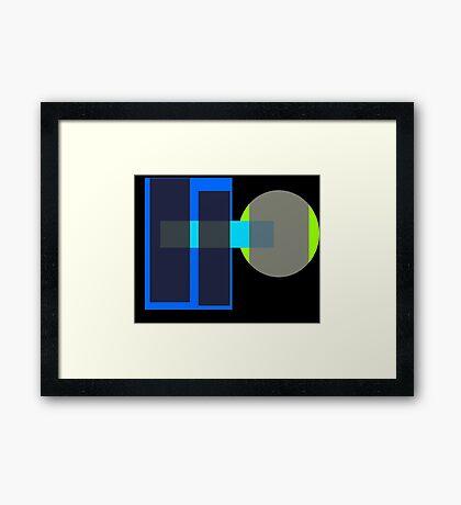 Input Framed Print