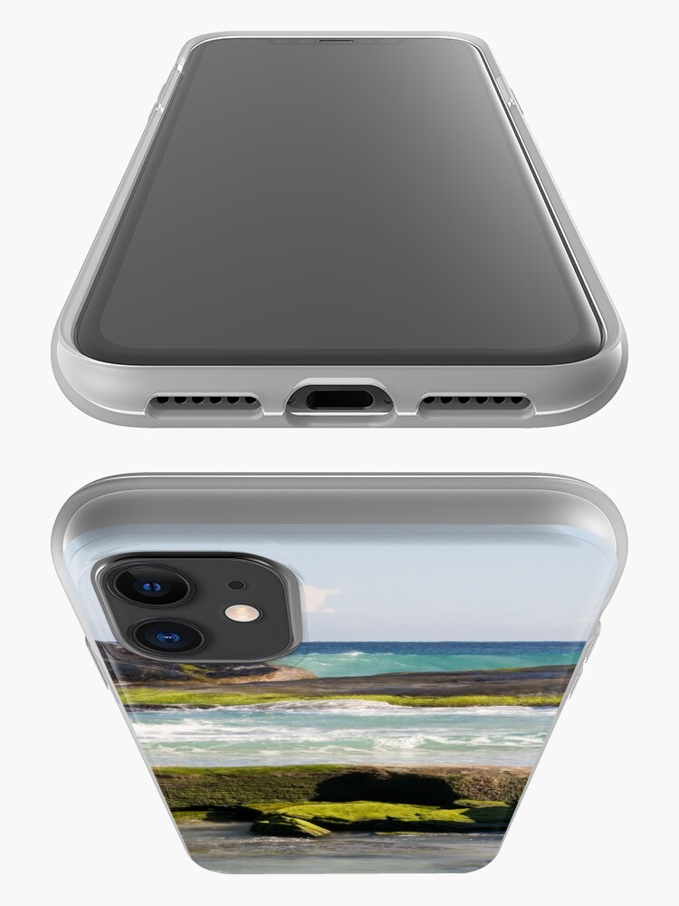 Alternate view of Redgate Beach Rocks with seaweed 2 iPhone Case & Cover