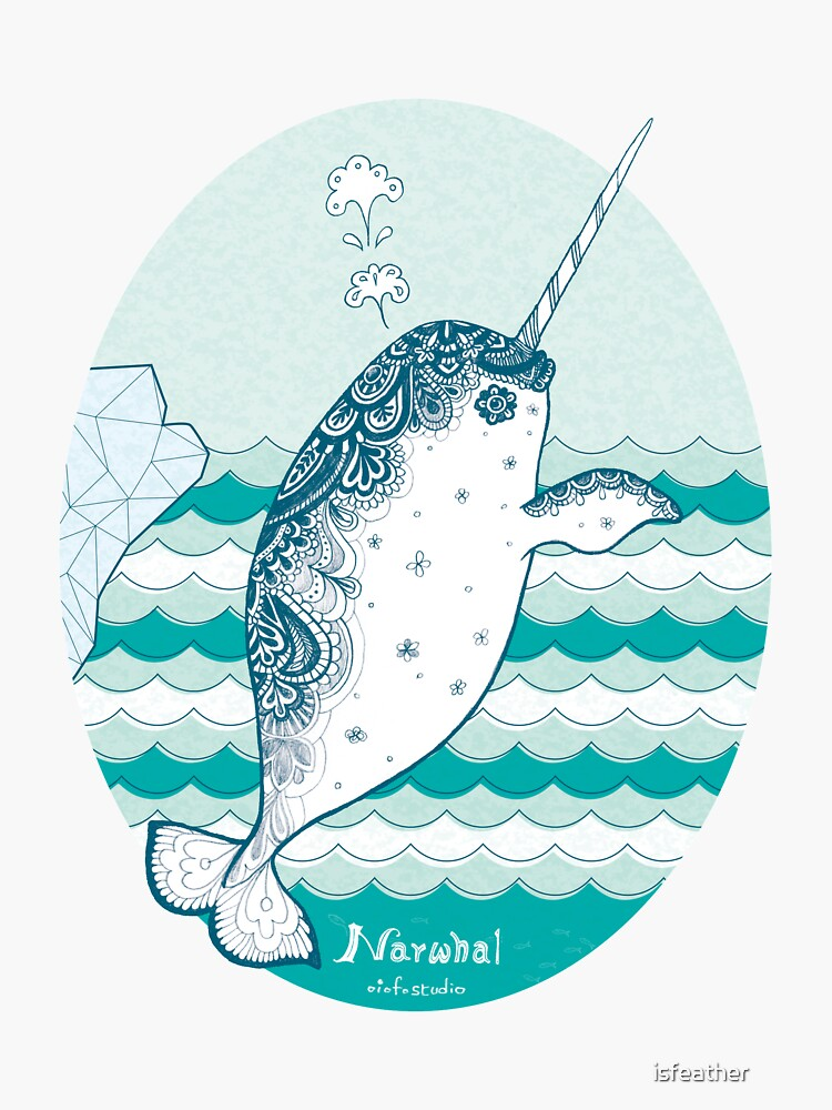 Narwhal by isfeather
