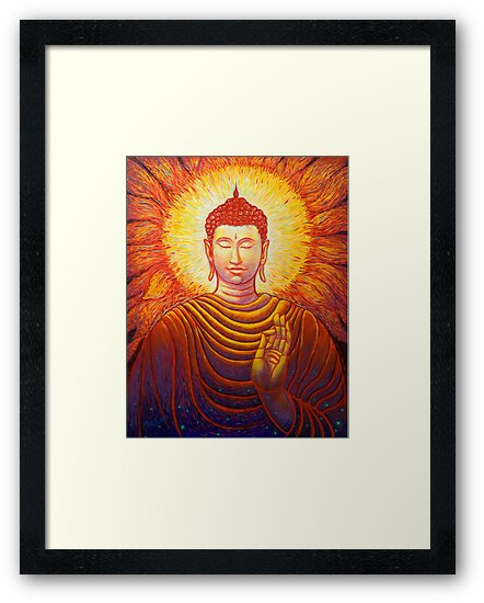 Buddha by Michael Brennan