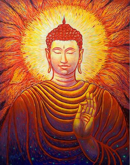 Buddha by Michael Brennan