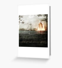 Here We Divide Greeting Card