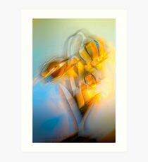 Lamplight : Color Abstract Art Print