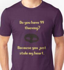 Runescape Thieving Pickup Line Tshirt Unisex T-Shirt