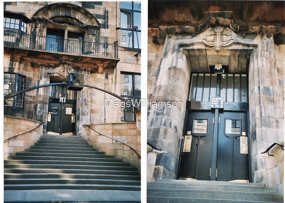 Glasgow School Of Art Entrance by MagsWilliamson