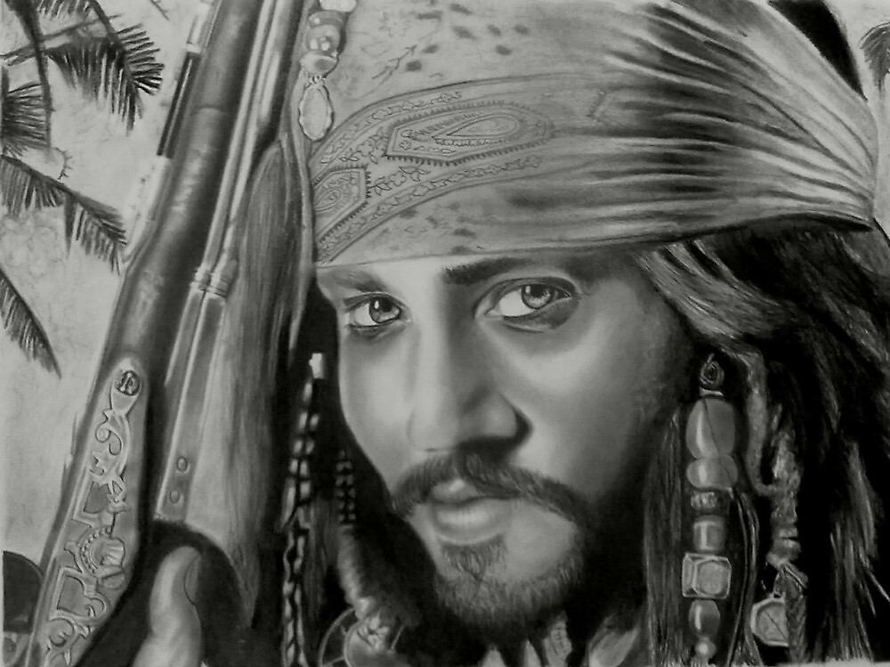 Captain Jack Sparrow by Smogmonkey