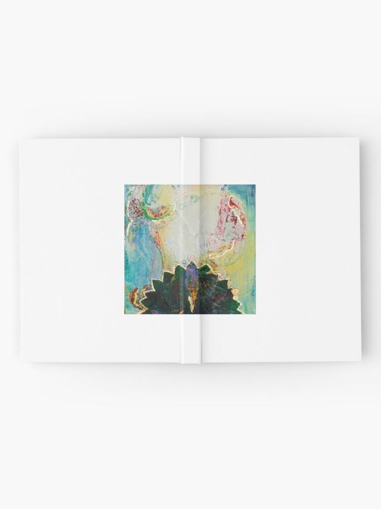 Alternate view of lotus Hardcover Journal
