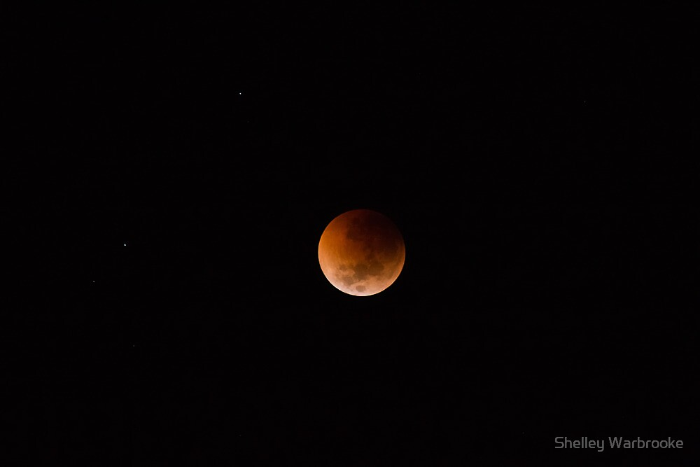 Total Lunar Eclipse by Shelley Warbrooke