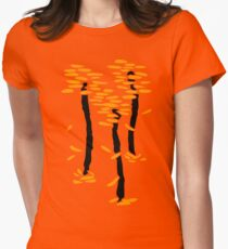 Autumn trees | Arbres d'automne Women's Fitted T-Shirt