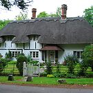 """""""Chocolate box"""" Cottage  by Groenendevil"""