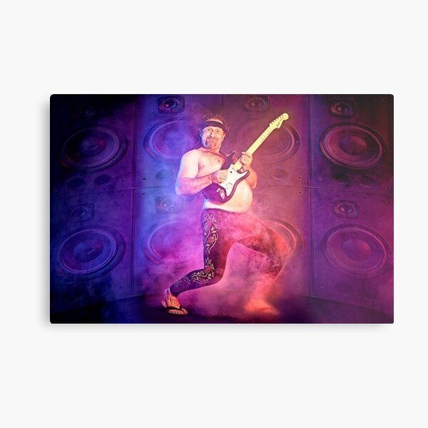 Mr ROCKtober! Metal Print