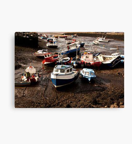 Awaiting High Tide Canvas Print