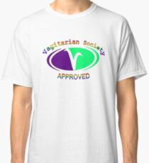 Vagitarian Society: Approved Classic T-Shirt